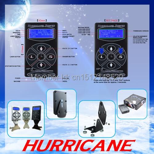 ФОТО Free Shipping Tattoo power supply Hurricane HP-2 Tattoo Digital Power Supply Black Color