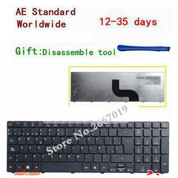 Teclado español para ordenador portátil Acer Aspire 5810 5536G 5536 5738G 5738...