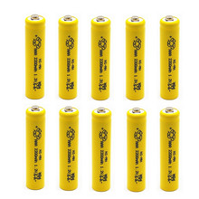 TBUOTZO  10PCS/LOT Free Shipping aaa Rechargeable Batteries 2200mAh Ni-MH AAA Battery