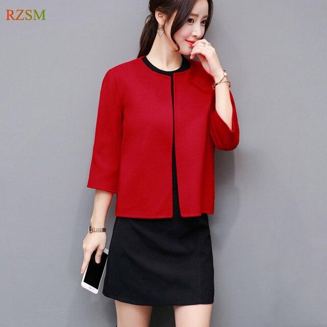 Aliexpress.com : Buy 2017 New Fashion Winter Woolen Overcoat Women ...