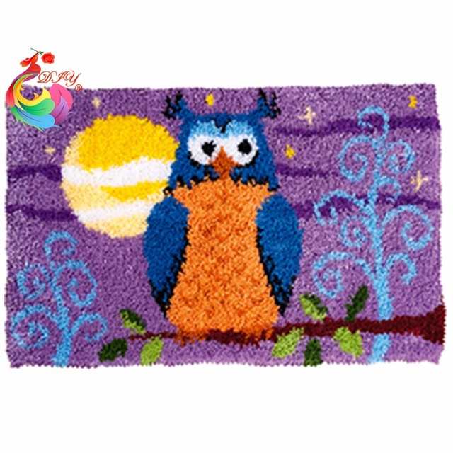 Carpet Embroidery Home Decoration Kids Kits Carpets And Rugs Latch Hook Rug Kitchen