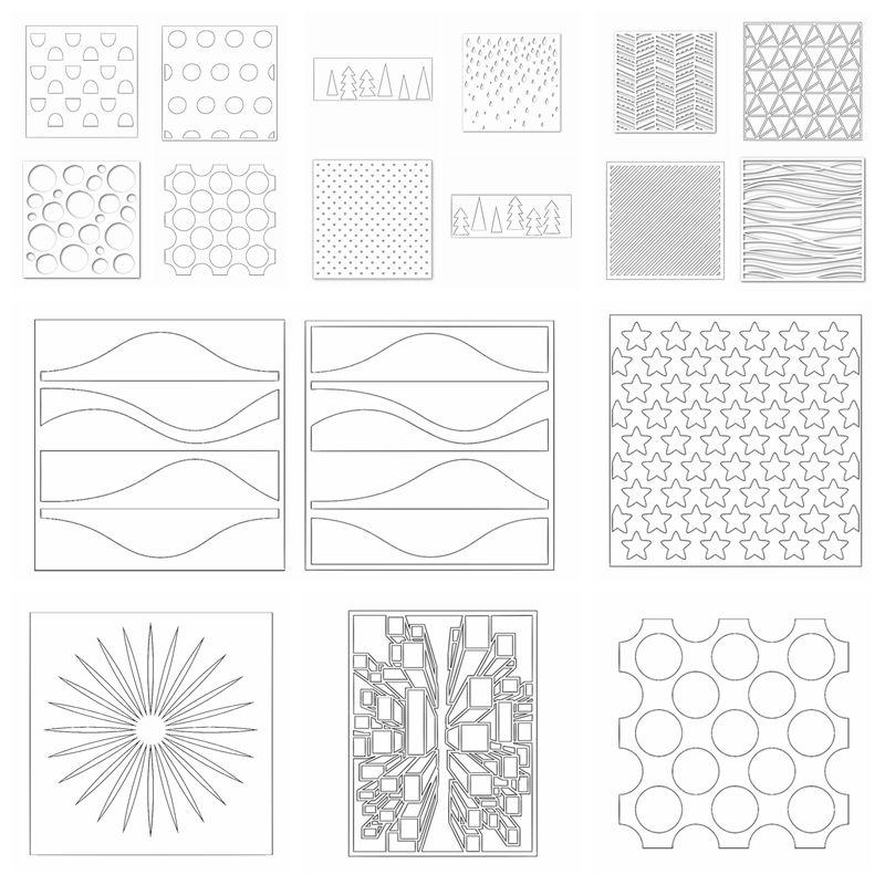Aliexpress.com : Buy Plastic Stencils For DIY Scrapbooking