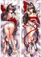 LOL Game League of Legends Ahri Inner Stuffing Hugging Body Pillow Case 150CM