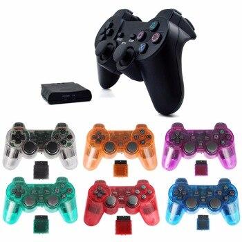 Беспроводной игровой геймпад джойстик для PS2 контроллер playstation 2 Вибрация видео игровая станция для sony joypad