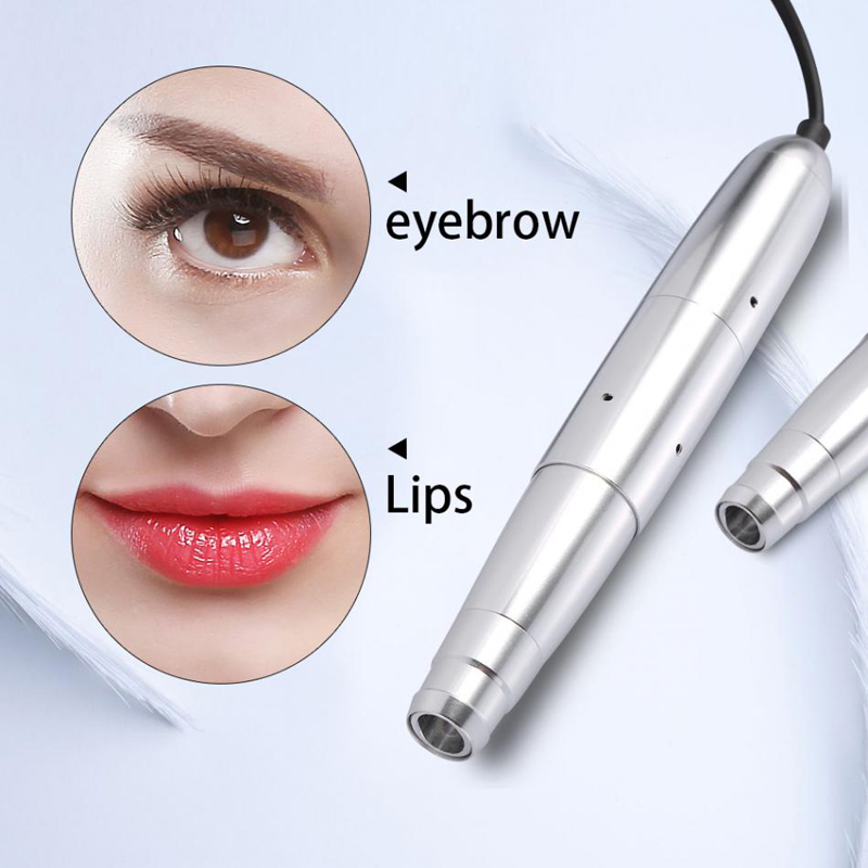 Easy Click Permanent Makeup Machine Rotary Pen Tattoo Dermografo With Strong Quiet Moror For Eyebrow Lips Eyeliner Tattoo