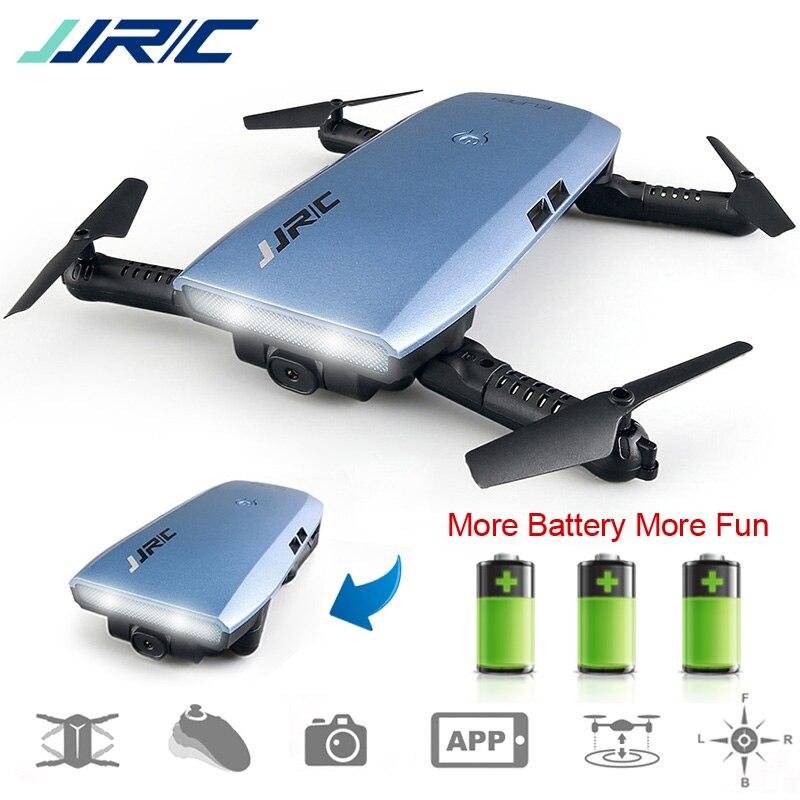 JJRC JJR/C H47 FPV Drone Quadcopter plegable con HD Cámara altitud mantenga modo sin cabeza Control de g-sensor dron VS H37 Mini