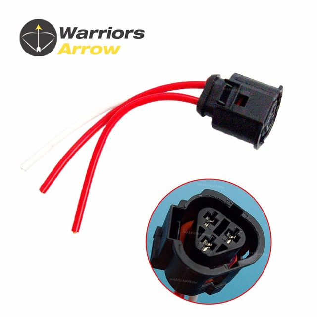 US $2 87 |1J0973203 For VW Jetta Golf MK4 Beetle Sharan Touran For Audi A3  TT For Seat For Skoda Radiator Coolant Temp Sensor Pigtail Plug-in Cables,