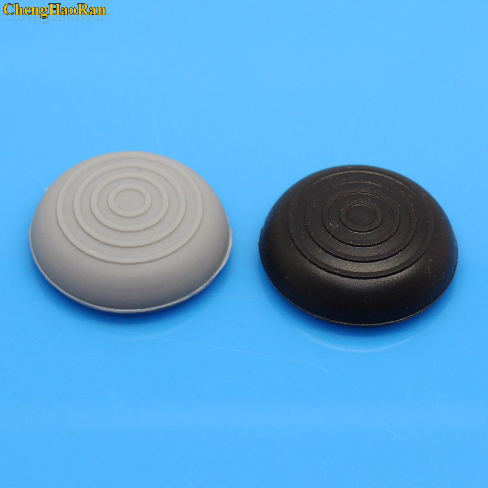 Купить с кэшбэком Best price 2pcs Rubber Silicone Cap  Stick Grips Cover For PS4 PS3 PS2 XBOX 360 ONE Controller Caps 13 Colors stick heads