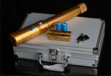 Cheap price Super Powerful Blue laser pointer 450nm 20000mw 20w LASER Flashlights Burning Match cigar cutting paper plastic+5 caps+Glasses