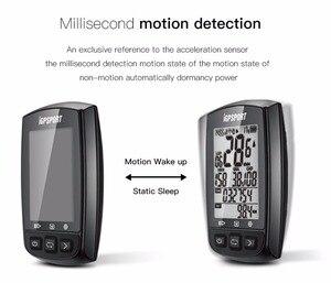 Image 4 - IGPSPORT IGS50E Waterproof IPX7 Bike Computer GPS ANT+ Wireless Speedometer Bicycle Digital Stopwatch Cycling Speedometer