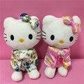 Nuevo 2 unids/lote 20 cm Cute Hello Kitty Muñecos de Peluche Para Niños Juguetes de Peluche de Felpa Animales Brinquedos Niñas Regalo de Navidad de Cumpleaños