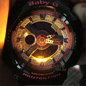 Image 3 - Casio watch g shock women watches top luxury set display ladies watch 100m Waterproof LED digital Quartz watch women reloj mujer