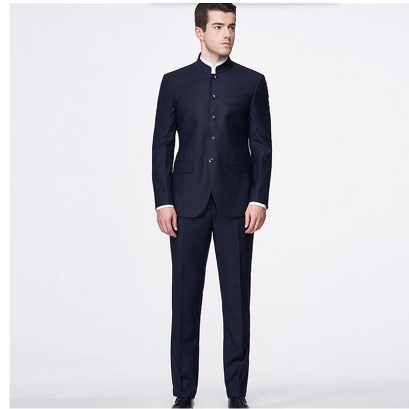 Popular Mens Mandarin Collar Suit-Buy Cheap Mens Mandarin Collar ...