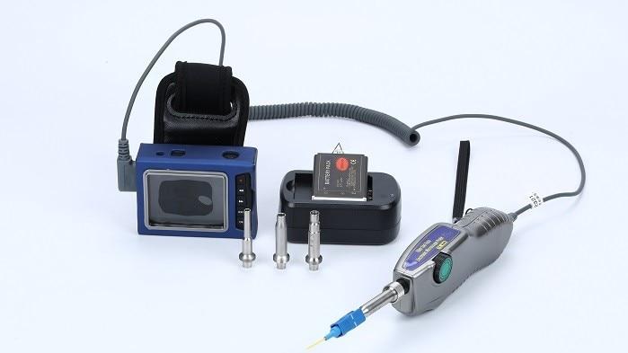 Sonde optique dinspection de connecteur de Fiber optique de MicroScope de Fiber et sonde 400X daffichageSonde optique dinspection de connecteur de Fiber optique de MicroScope de Fiber et sonde 400X daffichage