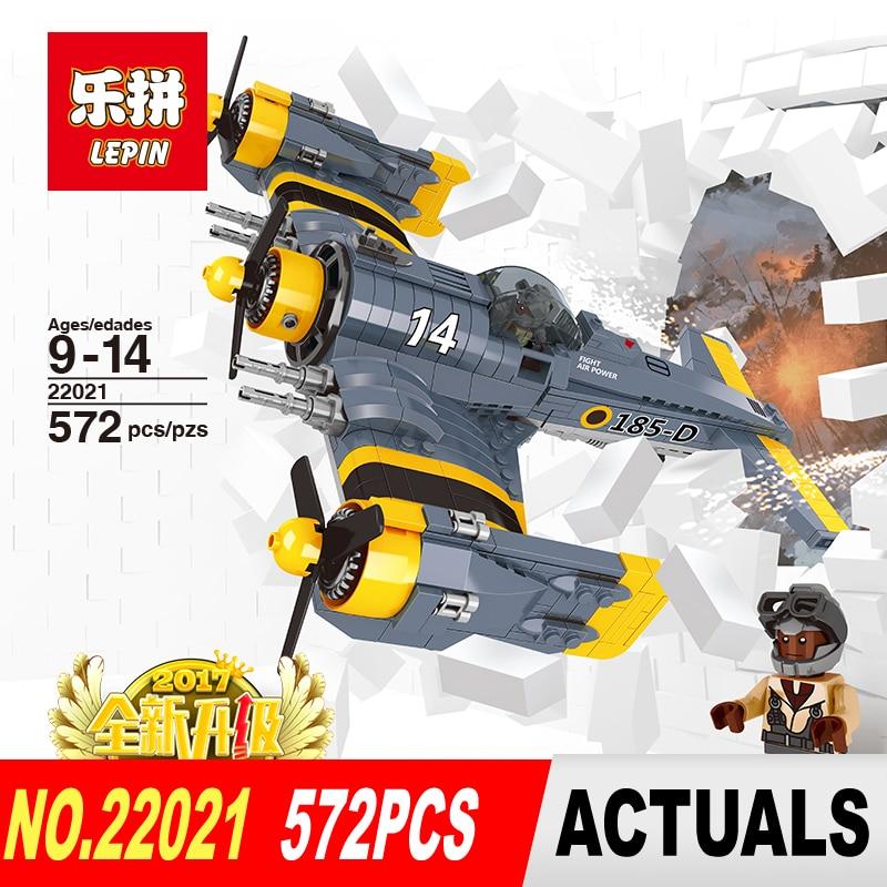 ФОТО New Lepin 22021 572PCS Technical Series The Beautiful Science Fiction Fighting Aircraft Set Building Blocks Bricks Toys Model