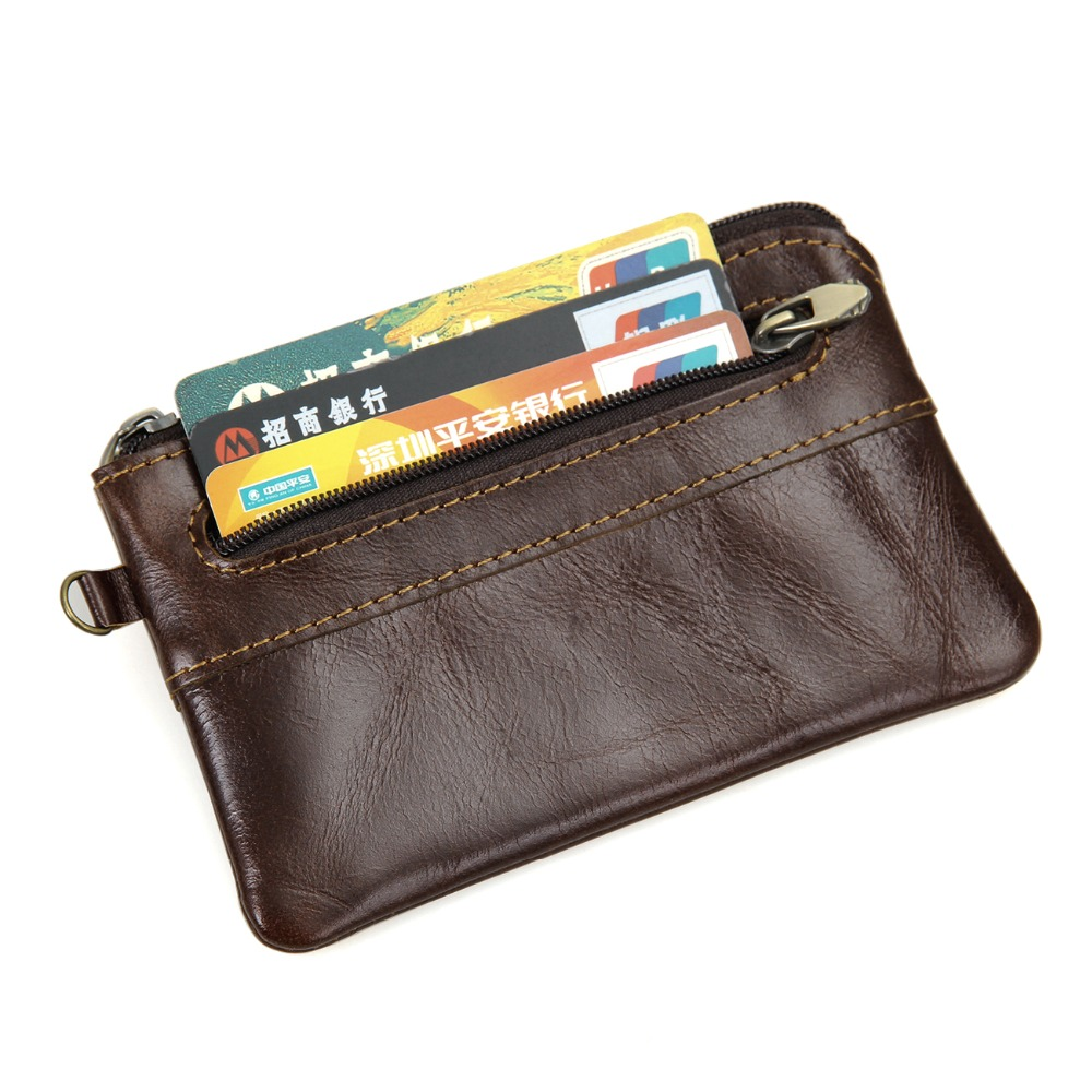J.M.D Men/'s Genuine Leather Wallet Clutch Pouch Handbag Card Case Cell Phone Bag