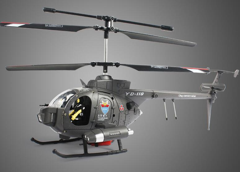 Rc Helicopter yd-119 3ch Movie theme defender Rc Helicopter Resistance to fall Afanda defender remote control model toys gifts xinlin shiye x123 3 5 ch r c infrared control helicopter black yellow