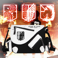 Attack on Titan Single Shoulder Messenger Canvas School Bags Bookbag (3 colors)