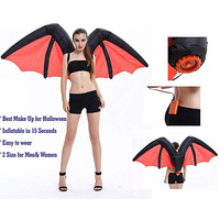 Inflatable Suit Wings Cospaly Fairy Costume Butterfly Rainbow Wing Adult Blowup Hallaween Props HG99