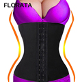 FLORATA High Quality Waist Trainer Body Shaper Corset Tummy Cincher  Slimming Shapewear Fast Delivery