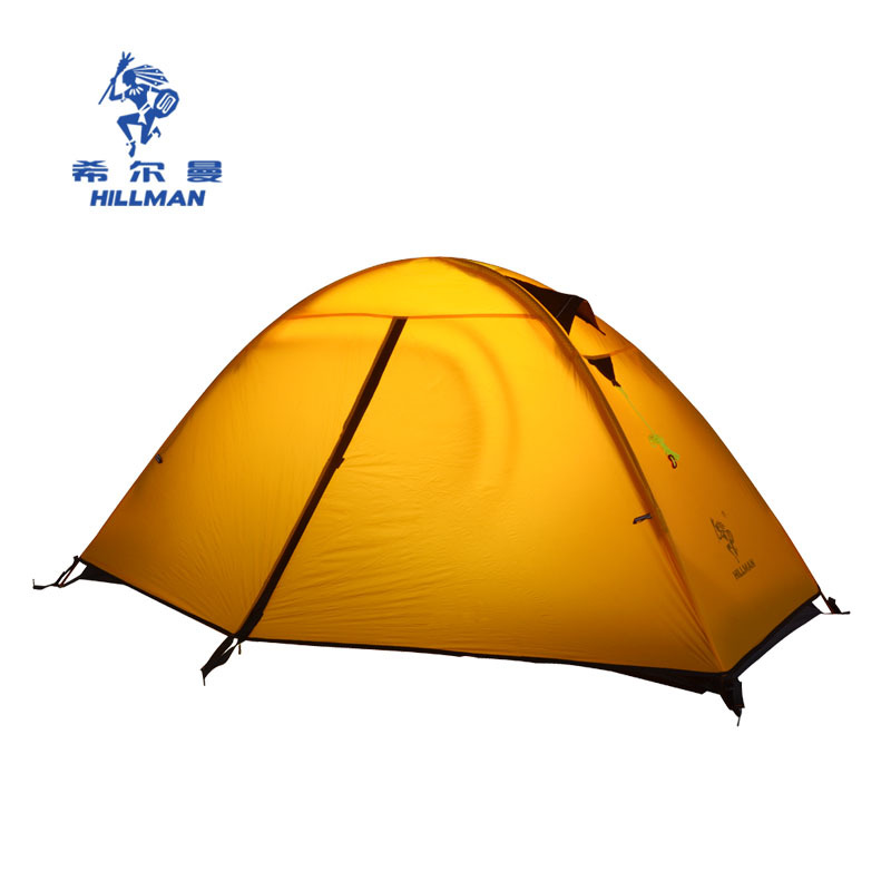 Hillman Qingfeng 1 outdoor tent ultra light single person camping Hiking Camping aluminum rodHillman Qingfeng 1 outdoor tent ultra light single person camping Hiking Camping aluminum rod