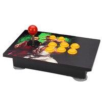 USB Rocker Game Controller Arcade Joystick Gamepad Fighting Stick For PC Computer led KOF 97 Rocker Arcade computer game board
