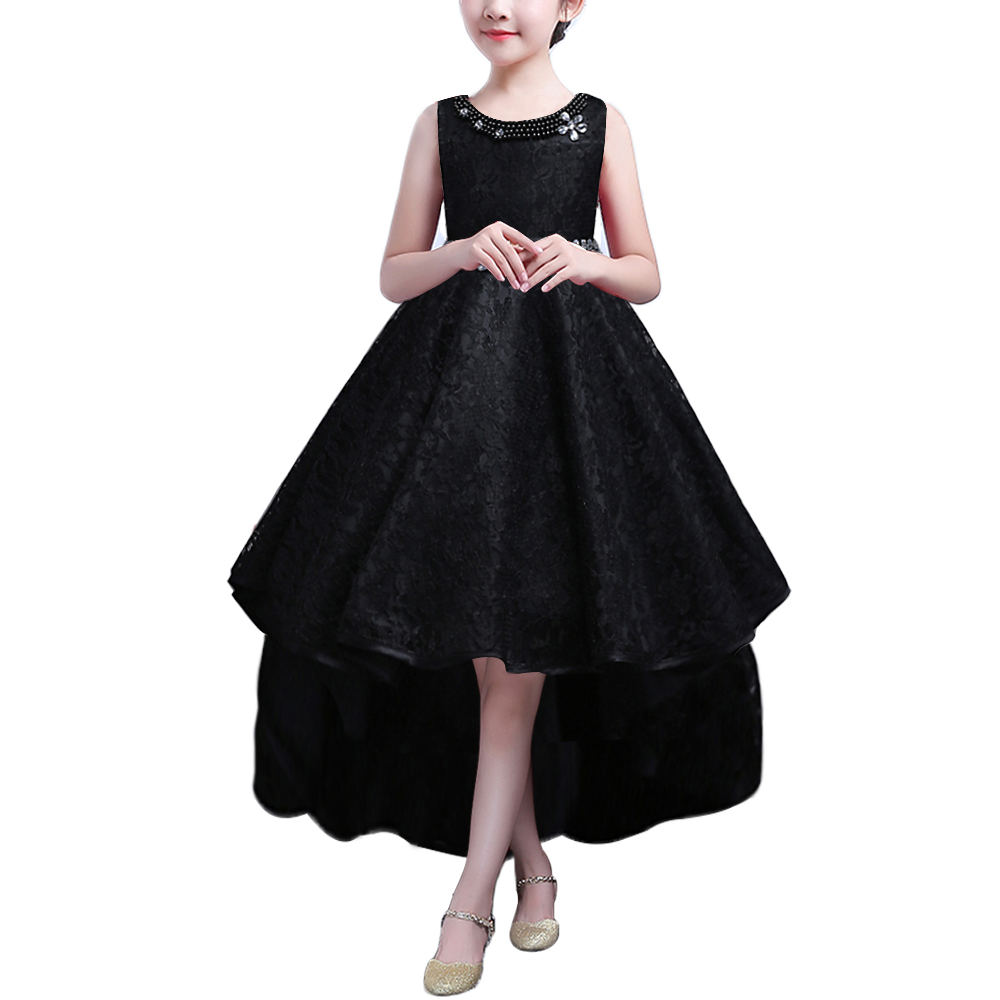 BAOHULU 3-14 Years Kids Dress for Girls Wedding Lace Long Girl Dress Elegant Princess Party Pageant Formal Gown for Teen Child цена