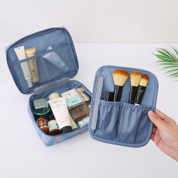 Multifunction Travel Cosmetic Bag Women Makeup Toiletries Organizer Waterproof 4