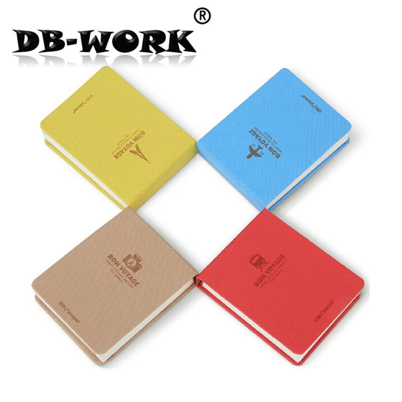 Канцелярские товары Deli 7710 Для Заметок Дизайн Восстанавливающий Древние Пути Высококачественная Ткань Чехол для Ноутбука Fashion Pure Color Pad