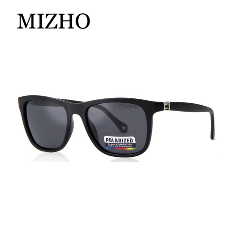 MIZHO Brand Plastic Retro Square Polarized Sunglasses Men Fashion UV400 Eyewear Traveling Women Sun Glasses Drives Travel Oculos Karachi
