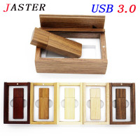 Photography Customer LOGO Wooden Usb Gift Box Usb Flash Drive Usb 3 0 Memory Stick Wood