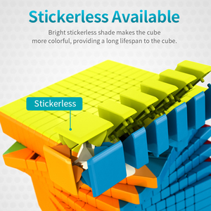 Image 4 - Neue Moyu Meilong 11x11 11 Schichten Geschwindigkeit Magic Cube MoYu 11x11x11 Stickerless Cube Puzzle magico Cobo Kinder Erwachsene