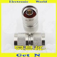 10 adet-100 adet 50-12 için N-JJ L16 Çift Erkek Konnektör Anten 1-to-2 Bağlayıcı 2-Way L16 erkek