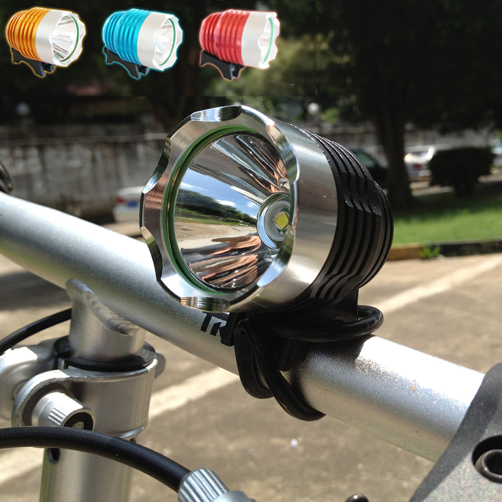 1800 Lumen <font><b>T6</b></font> L2 fishing Bike <font><b>Bicycle</b></font> <font><b>LED</b></font> <font><b>Light</b></font> Flashlight Waterproof Brightness 5V2A USB Interface Headlight Lamp image