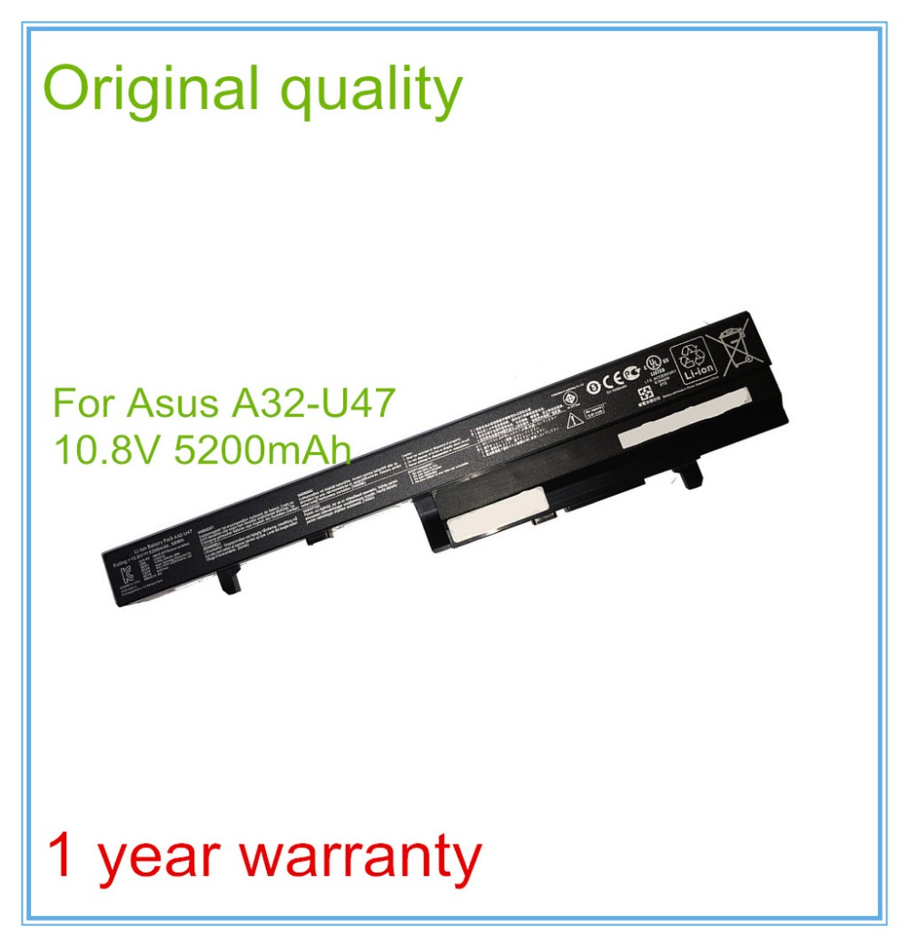 New A32-U47 Laptop Battery For  A41-U47 A42-U47 U47 U47A U47C Q400 Q400C R404 R404VC high quality double acting pneumatic robot gripper air cylinder mhc2 25d smc type angular style aluminium clamps