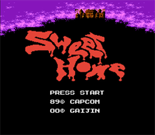 Sweet Home <font><b>Game</b></font> <font><b>Card</b></font> For <font><b>72</b></font> <font><b>Pin</b></font> 8 Bit <font><b>Game</b></font> Player image