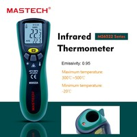 MASTECH MS6522A NEW Digital Temperature Meter Tester Laser Pointer Non contact Infrared IR Thermometer