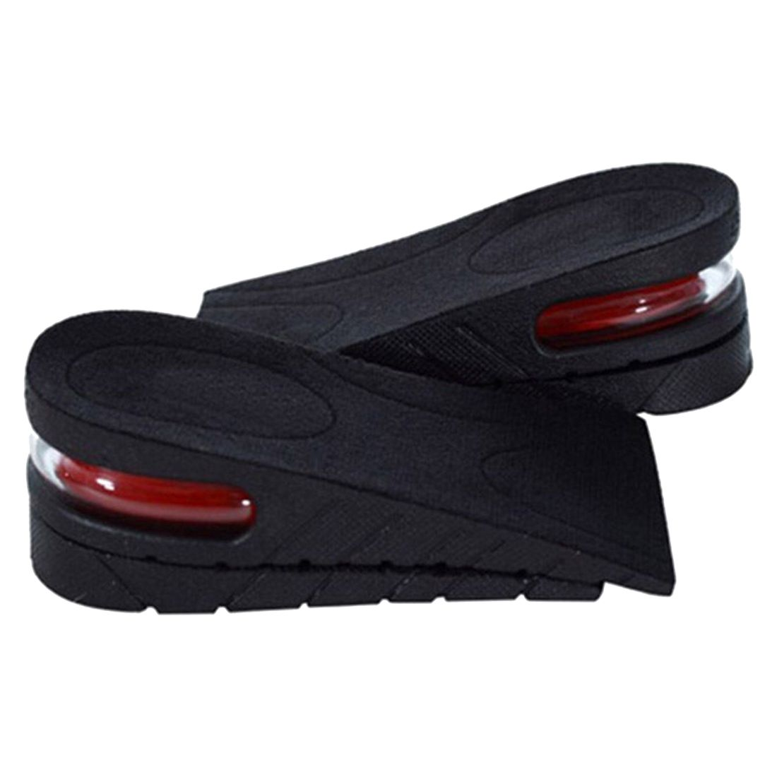 Men Women Shoe Insole Air Cushion Heel insert Increase Tall Height Lift 5cm 2016 2 pcs invisible shoe taller insole 6 color increasing height short helper half lift air 2 5cm cushion insert 6 colors