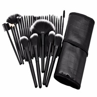 32pcs Professional Makeup Brushes Cosmetic Kit Eyebrow Face Cheek Blush Foundation Powder Makeup Brush Set With