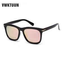 VWKTUUN Polarizado gafas de Sol de Las Mujeres de Gran Tamaño Gafas de Sol Para Hombres de Pesca Cuadrado Espejo de Conducción Polarizada Gafas De Sol