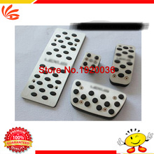 HIGH quality aluminium gas brake foot pedals set for Lexus ES250 ES300 ES350 RX270 RX350 RX450