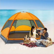 1x 240*210*135cm Quality mongolian yurt tent 3-4 person rainproof outdoor survival hiking hunting fishing tourist emergency tent