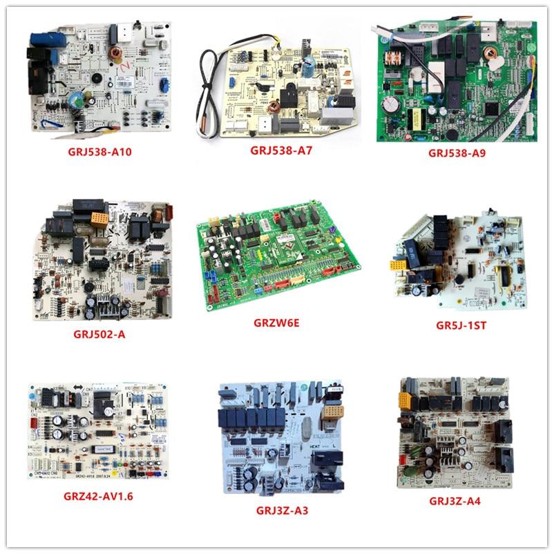 GRJ538-A10/A7/A9| GRJ502-A| GRZW6E| GR5J-1ST| GRZ42-AV1.6|GRJ3Z-A3/A4/A8/A9/A10 GRJ850-A/A2/A6/A9/A11/12/N4007 Used Good Working