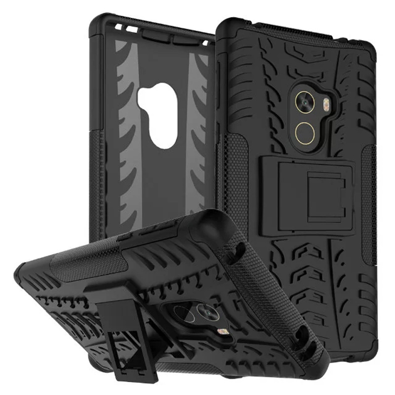 Rugged Holster Resilient Cell Phone Case With Phone Stand Mount Holder  Mobile Phone Case For Xiaomi Mi Mix