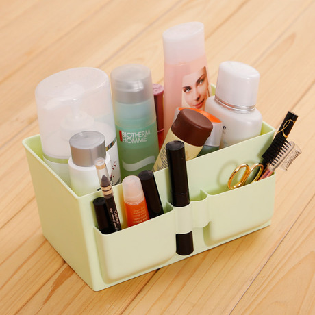 Mini Makeup Storage Box Case Cosmetic Items Miscellaneous Small Objects Box Desktop Organizer