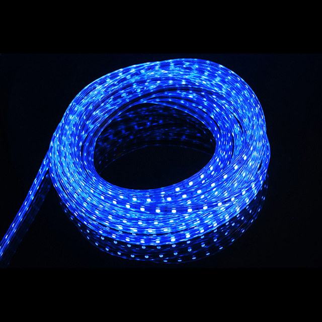 Blue Color 20m 60led M Ultra Bright 5050 Led Strip Light Outdoor Garden Home Rope Waterproof