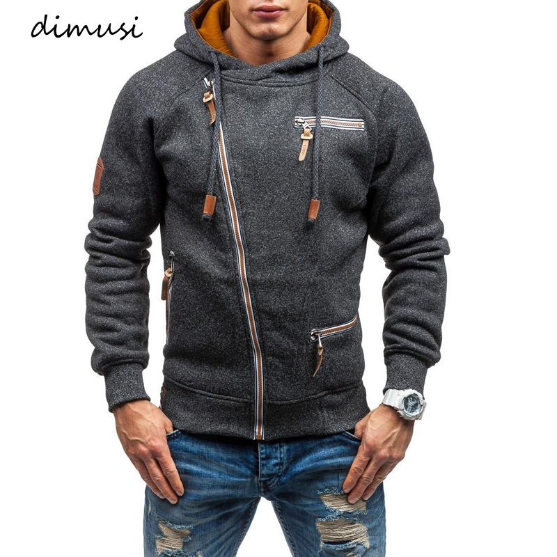 DIMUSI Mens Hoodies Fashion Mens Zipper Sweatshirt Slim Bomber Jackets Mens Hoodie Hip Hop Hoodies Sportswear Tracksuit Clothing