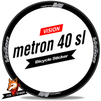 700C 40mm Rim Wheel Sticker Road Bicycle Stickers Bike Rim Decals Cycle Reflective Road Wheels Decal for Metron 40 Sl