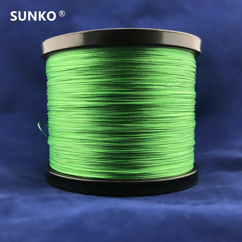 8stands 300M SUNKO Brand Strong Japanese Multifilament PE Material Braided Fishing Line 18 30 <font><b>40</b></font> 50 60 70 80 100 <font><b>120</b></font> 140 160LB image