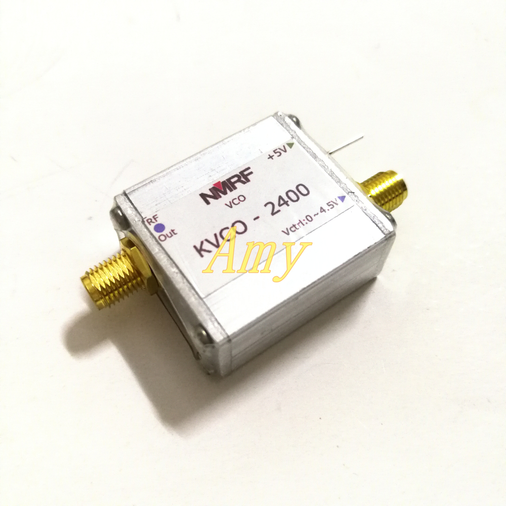 2 4G RF microwave voltage controlled oscillator VCO sweep signal source signal generator